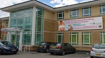 Outside Cardiff Clinic