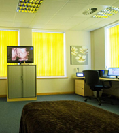 Inside Cardiff Clinic
