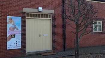 Outside Swindon Clinic